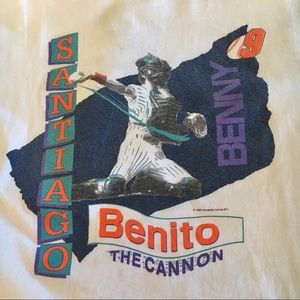 Graphic Tee • Benito Santiago by